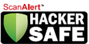 ScanAlert HACKER SAFE logo