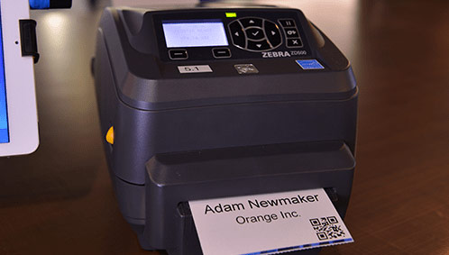 Instant Event Badge Printing