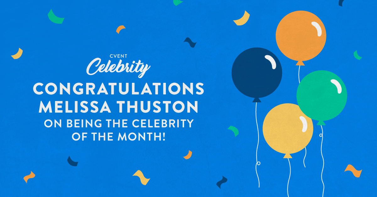 Celebrity of the month - Melissa Thuston