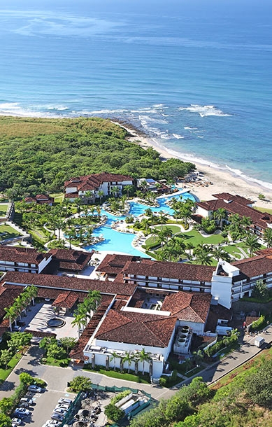 Aerial view of JW Marriott Guanacaste Resort and Spa