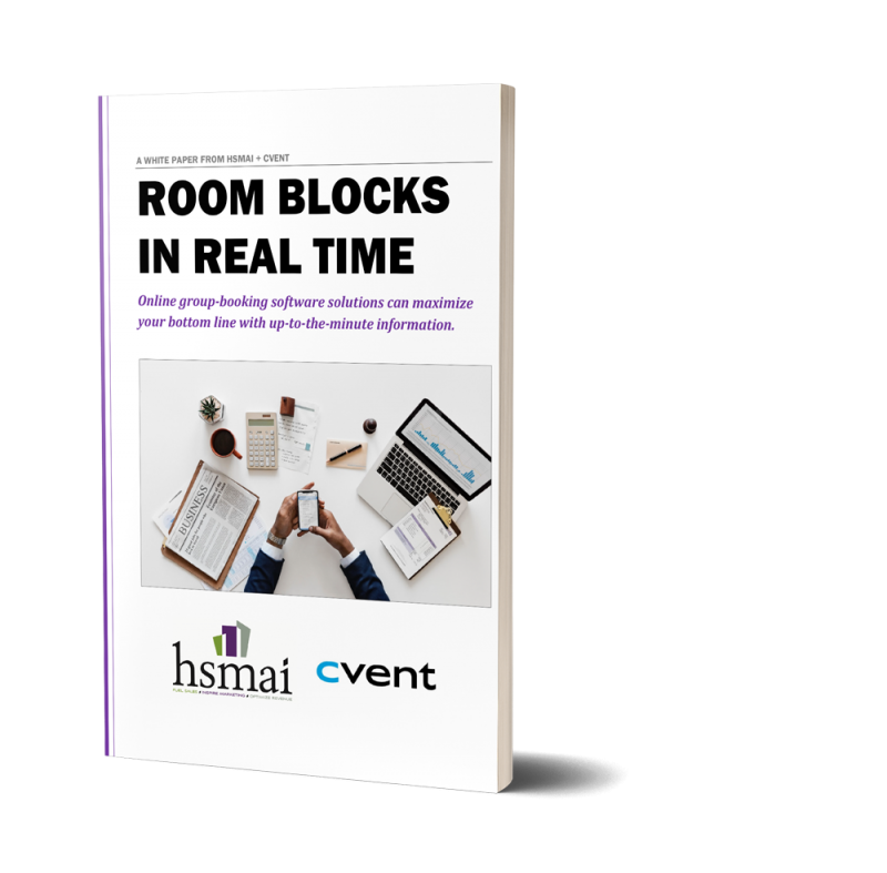 room blocks in real time