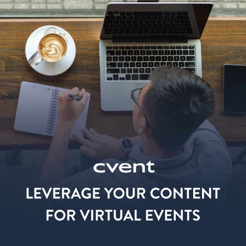 Leverage Your Content for Virtual Events