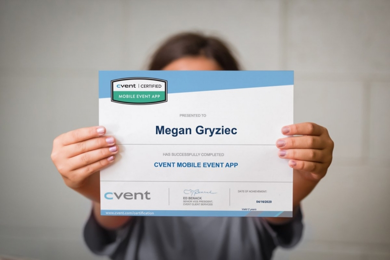 Cvent Certification free certification event planner certificate