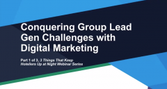 Conquering Group Lead Gen Challenges with Digital Marketing