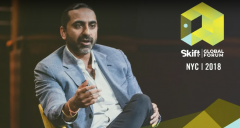Bharet Malhotra at Skift Global Forum 2018
