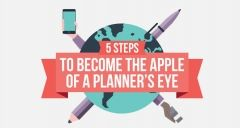 5 Steps to Become the Apple of a Planner's Eye