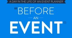 A day in the life of an event planner - before an event
