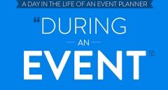 A day in the life of an event planner - during an event