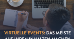 Leveraging Content for Virtual Events
