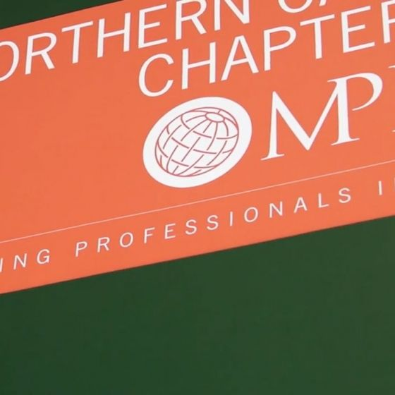 A banner for the Northern California Chapter of Meeting Professionals International