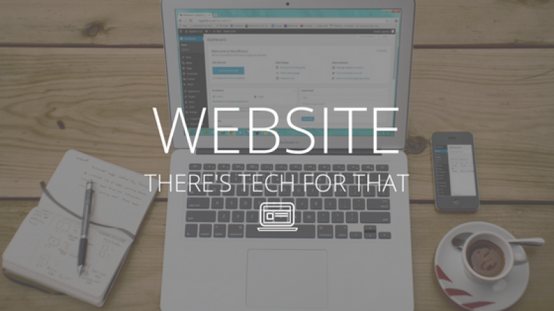There's Tech for That Website