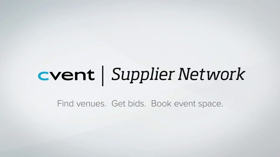 Certification For Suppliers Supplier Network Cvent