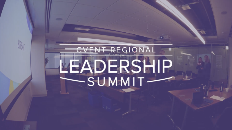 Cvent Regional Leadership Summit Video