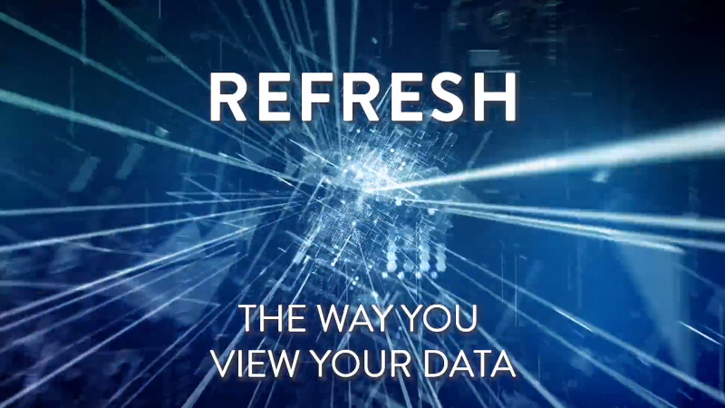 refresh the way you view your data