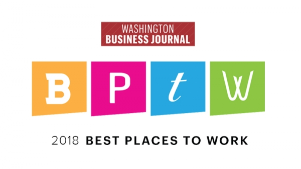2018 Best Places to Work - Washington Business Journal