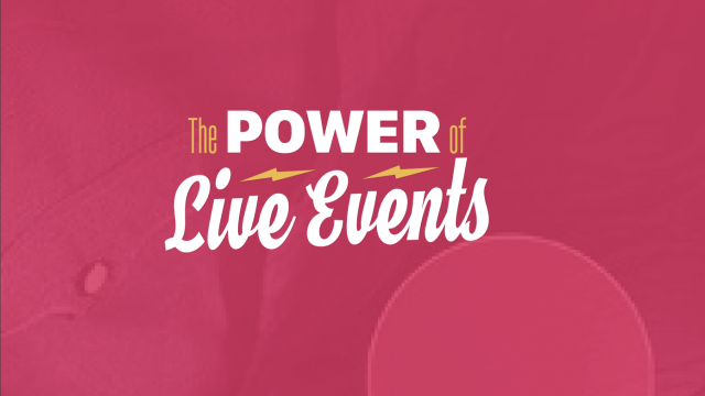 Power of Live Events Thumbnail