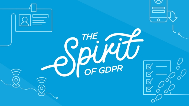 Spirit of GDPR blue