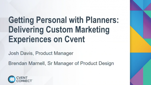 getting personal with planners video thumbnail