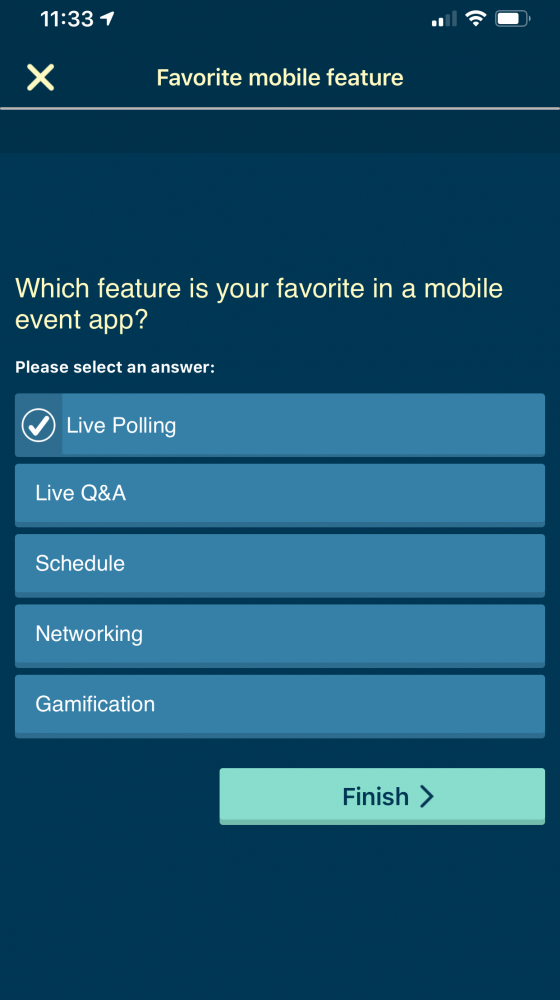 Personalize attendee experience mobile event app