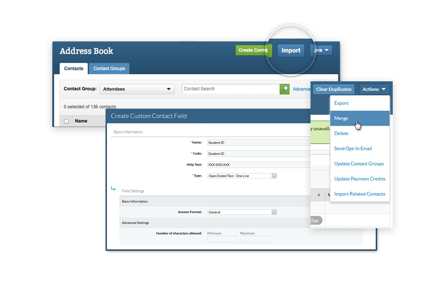 Contact Management with Cvent