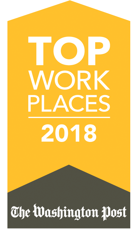 Top Places to Work Award 2018