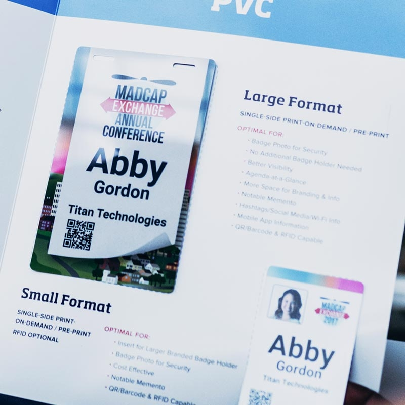 Event Management Badges and Printing